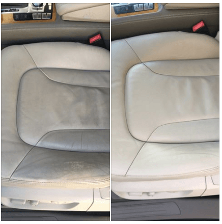 Car seat – Dirty