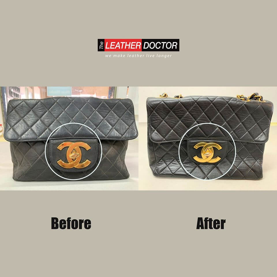 Before After – Chanel Bag