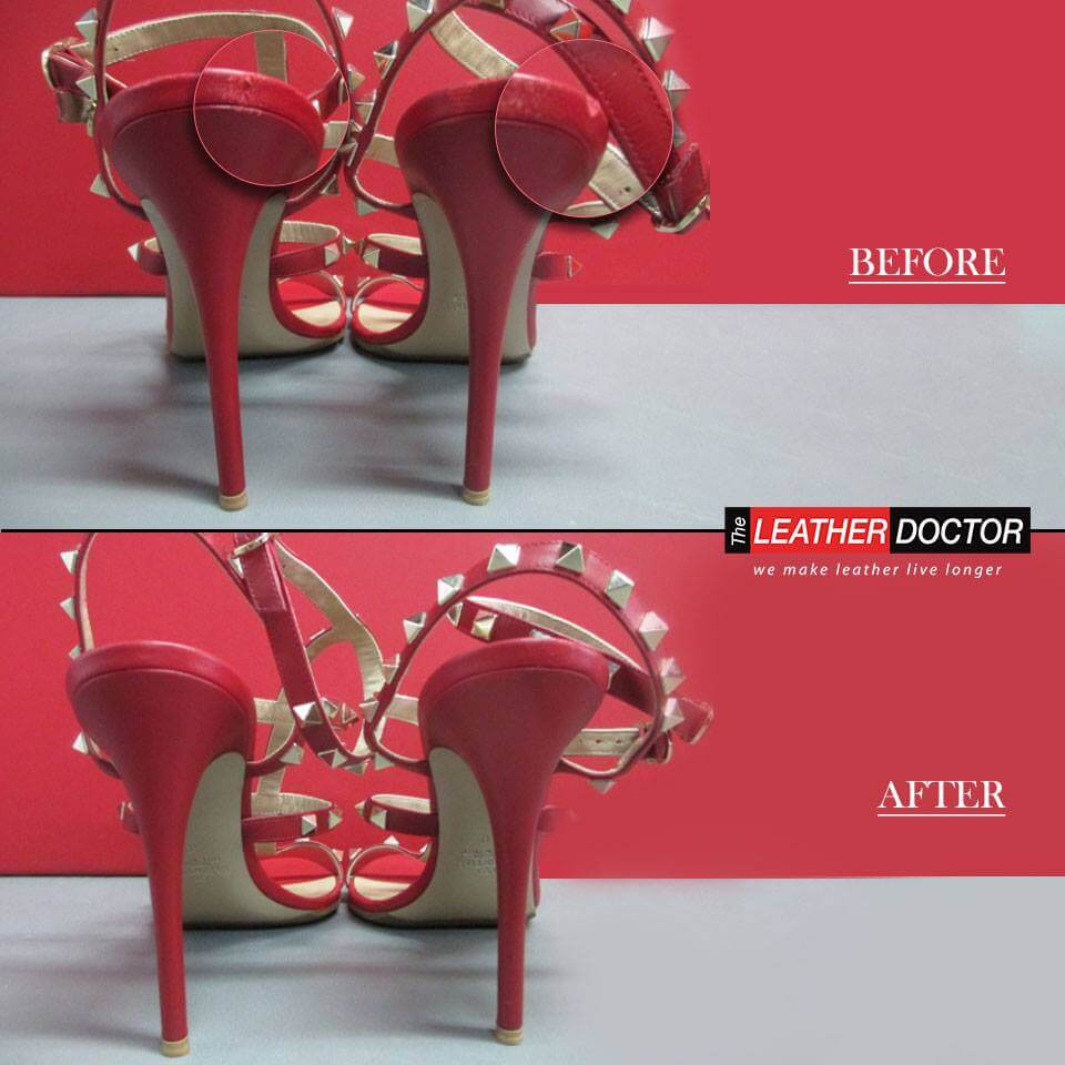 Heels Before after
