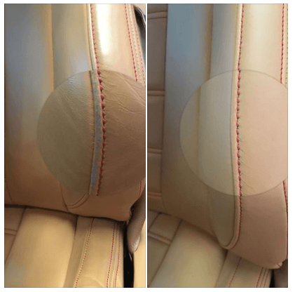 Car seats – before after