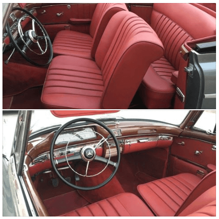 Red Car Interiors
