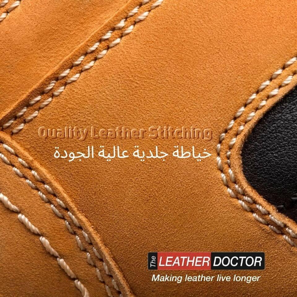 Leather Stitching