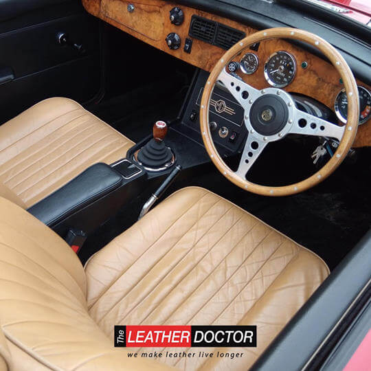 Rejuvenate your leather seats